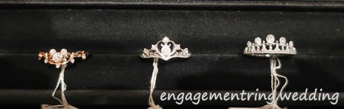 婚約指輪の平均像