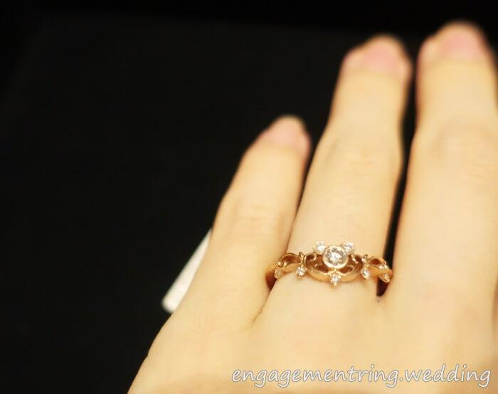 1万円の婚約指輪